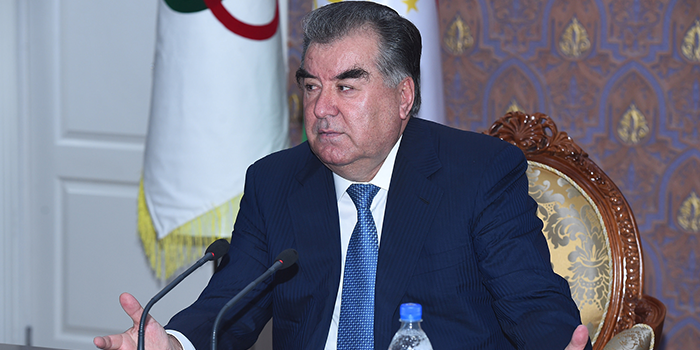 17th General Assembly with the participation President of the National Olympic Committee H.E. Emomali Rahmon
