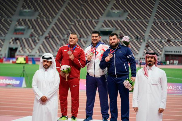 Dilshod Nazarov won the fifth champion's title of Asia