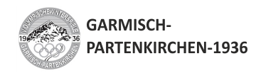 1936 GARMISH - PARTENKIRCHEN