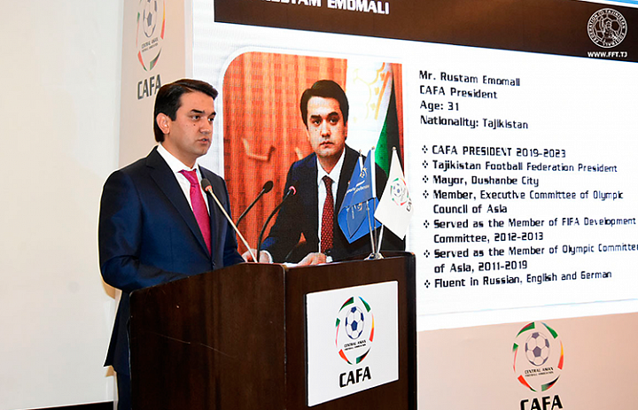 Rustami Emomali became President of the Central Asian Football Association
