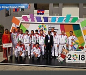 ASIAN GAMES 2018. TAJIKISTAN TEAM