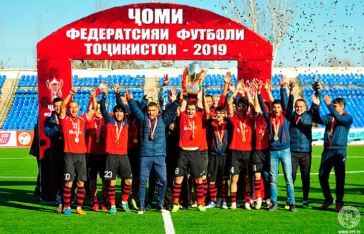 "This is the fifth time ""Istiqlol"" won the Cup of TFF"