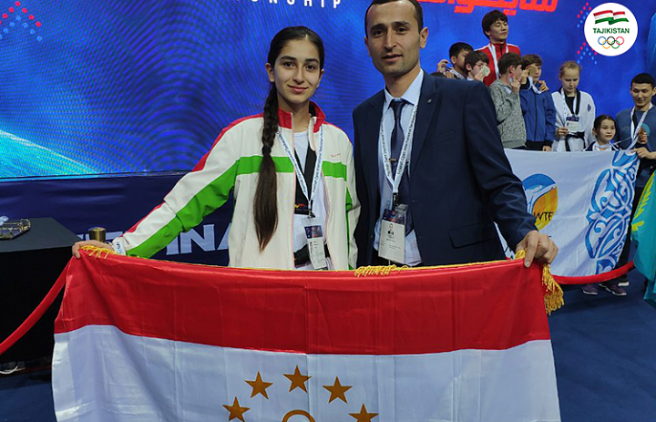 Tajikistan snatches silver medal at Fujairah Open 2019 WT-G1 Event
