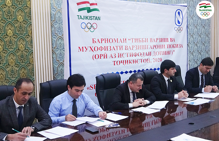 Tajikistan NOC spreads the word against doping in sport